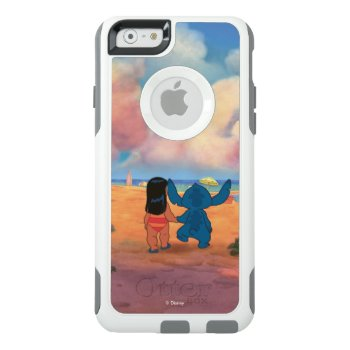 Lilo & Stich |lilo & Stitch At The Beach Otterbox Iphone 6/6s Case by LiloAndStitch at Zazzle