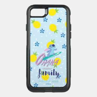 Lilo & Stich | Ohana Means Family OtterBox Commuter iPhone 8/7 Case