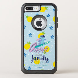 Lilo & Stich | Ohana Means Family OtterBox Commuter iPhone 8 Plus/7 Plus Case