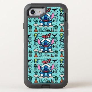Lilo & Stich | Stitch Emoji OtterBox Defender iPhone 8/7 Case