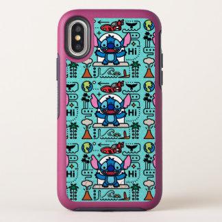 Lilo & Stich | Stitch Emoji OtterBox Symmetry iPhone X Case