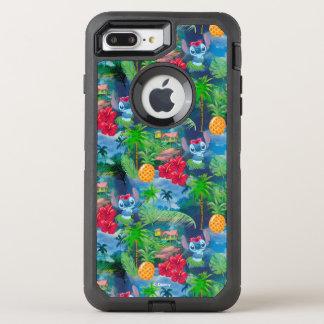 Lilo & Stich | Stitch Pattern OtterBox Defender iPhone 8 Plus/7 Plus Case