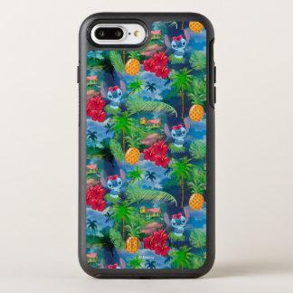 Lilo & Stich | Stitch Pattern OtterBox Symmetry iPhone 8 Plus/7 Plus Case