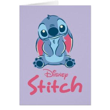 Disney Themed Lilo & Stich | Stitch & Scrump Card