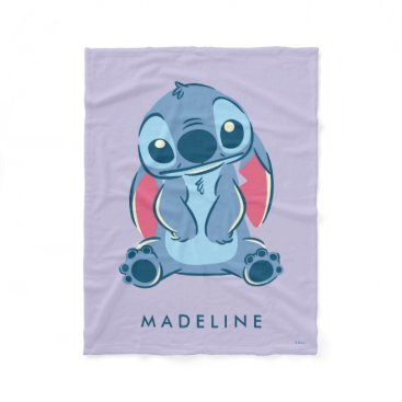 Disney Themed Lilo & Stich | Stitch & Scrump Fleece Blanket