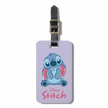 Disney Themed Lilo & Stich | Stitch & Scrump Luggage Tag