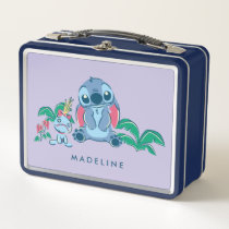 Lilo & Stich | Stitch & Scrump Metal Lunch Box