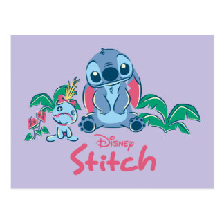 Lilo & Stich | Stitch & Scrump Postcard