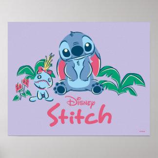 Lilo & Stich | Stitch & Scrump Poster