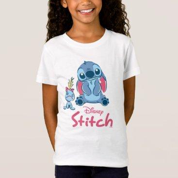 Disney Themed Lilo & Stich | Stitch & Scrump T-Shirt