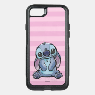 Lilo & Stich | Stitch Sketch OtterBox Commuter iPhone 8/7 Case