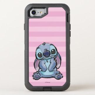 Lilo & Stich | Stitch Sketch OtterBox Defender iPhone 8/7 Case