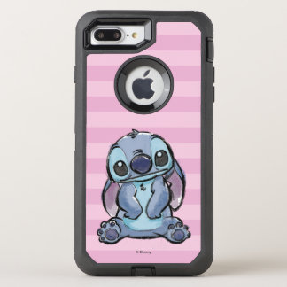 Lilo & Stich | Stitch Sketch OtterBox Defender iPhone 8 Plus/7 Plus Case