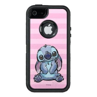 Lilo & Stich | Stitch Sketch OtterBox Defender iPhone Case