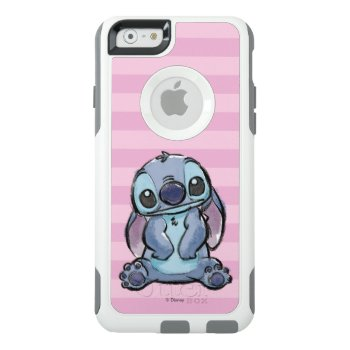 Lilo & Stich | Stitch Sketch Otterbox Iphone 6/6s Case by LiloAndStitch at Zazzle