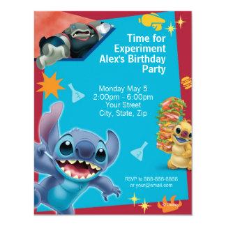Lilo & Stitch Birthday Invitation Custom Invitations
