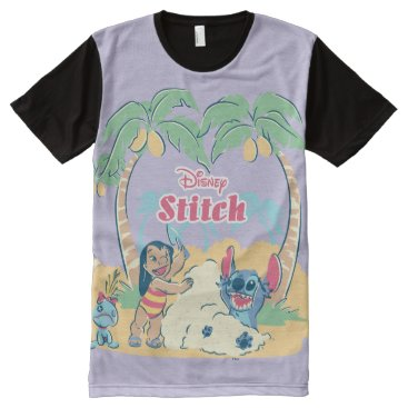 Lilo & Stitch | Come visit the islands! All-Over-Print Shirt