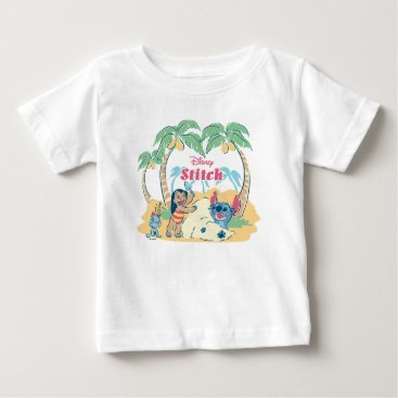 Disney Themed Lilo & Stitch | Come visit the islands! Baby T-Shirt
