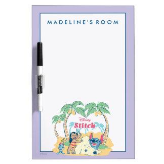 Lilo & Stitch | Come visit the islands! Dry-Erase Board