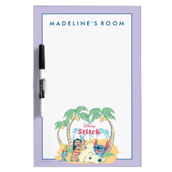Lilo & Stitch | Come visit the islands! Dry-Erase Board