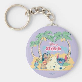 Lilo & Stitch | Come visit the islands! Keychain
