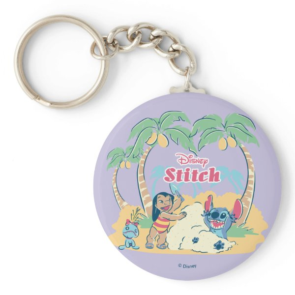 Lilo & Stitch | Come visit the islands! Keychain