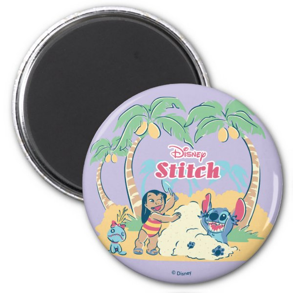 Lilo & Stitch | Come visit the islands! Magnet