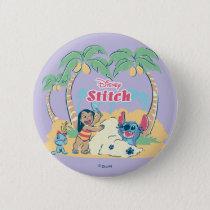 Lilo & Stitch | Come visit the islands! Pinback Button