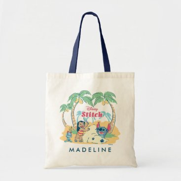 Disney Themed Lilo & Stitch | Come visit the islands! Tote Bag