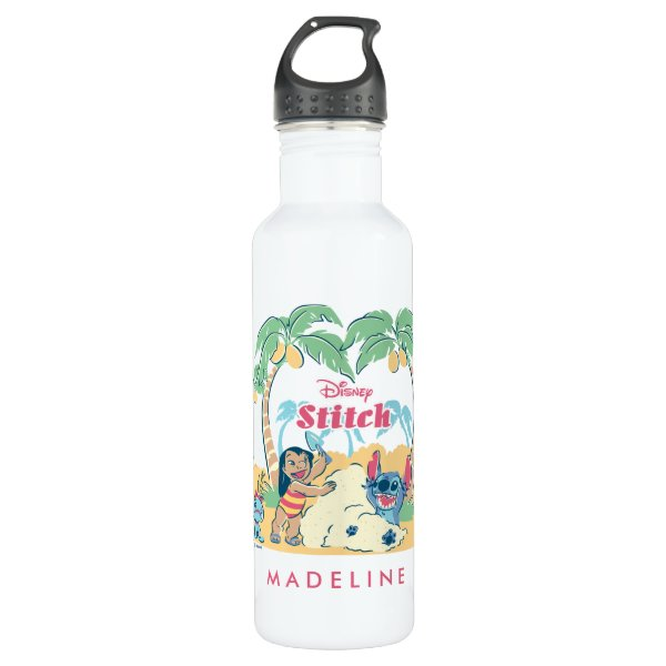 Lilo & Stitch | Come visit the islands! Water Bottle