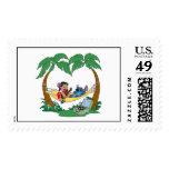 Lilo & Stitch Lilo Stitch on a hammock Postage Stamps