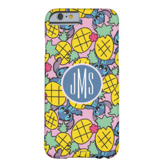 Lilo & Stitch | Monogram Pineapple Pattern Barely There iPhone 6 Case