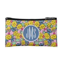 Lilo & Stitch | Monogram Pineapple Pattern Cosmetic Bag