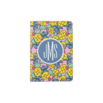 Lilo & Stitch   Monogram Pineapple Pattern Passport Holder