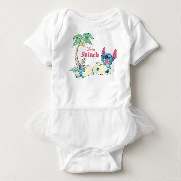 Disney Themed Lilo & Stitch | Ohana Means Family Baby Bodysuit