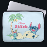 "Lilo &amp; Stitch | Ohana Means Family Laptop Sleeve<br><div class=""desc"">Stitch &amp; Scrump playing in the sand at the beach.</div>"