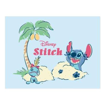 Disney Themed Lilo & Stitch | Ohana Means Family Postcard