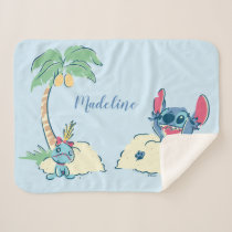 Lilo & Stitch | Ohana Means Family Sherpa Blanket