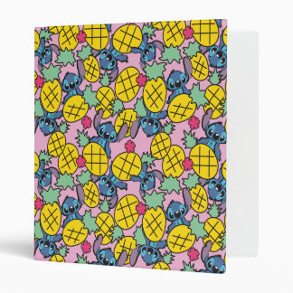 Lilo & Stitch | Pineapple Pattern Binder