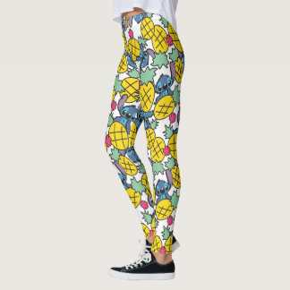 Lilo & Stitch | Pineapple Pattern Leggings