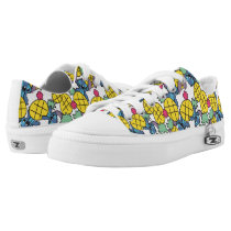 Lilo & Stitch | Pineapple Pattern Low-Top Sneakers