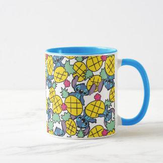 Lilo & Stitch   Pineapple Pattern Mug
