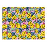 Lilo & Stitch | Pineapple Pattern Postcard