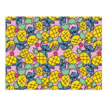 Lilo & Stitch | Pineapple Pattern Postcard
