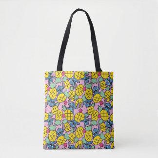 Lilo & Stitch | Pineapple Pattern Tote Bag