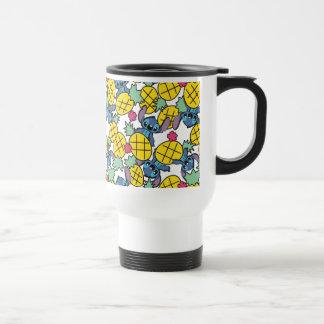 Lilo & Stitch   Pineapple Pattern Travel Mug
