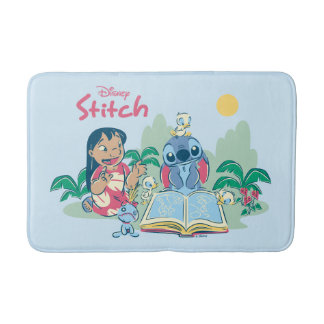 Lilo & Stitch | Reading the Ugly Duckling Bathroom Mat