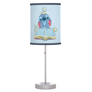 Lilo & Stitch | Reading the Ugly Duckling Desk Lamp