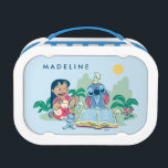 """Lilo &amp; Stitch   Reading the Ugly Duckling Lunch Box<br><div class=""""desc"""">Lilo &amp; Stitch reading the Ugly Duckling to some duckling friends.</div>"""