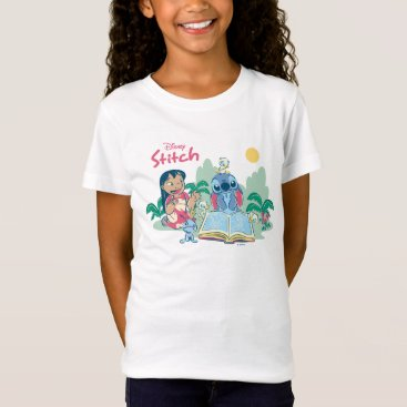 Disney Themed Lilo & Stitch | Reading the Ugly Duckling T-Shirt